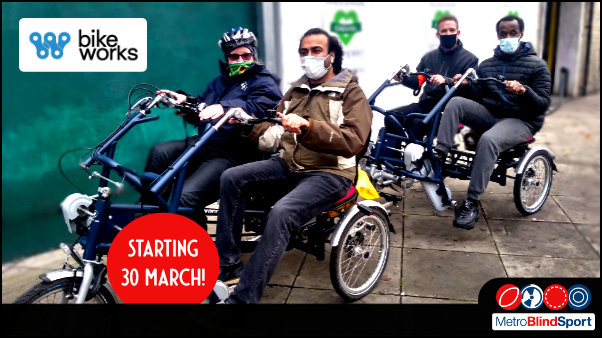 Ride Side-by-Side Starts 30 March with Bikeworks & Metro!