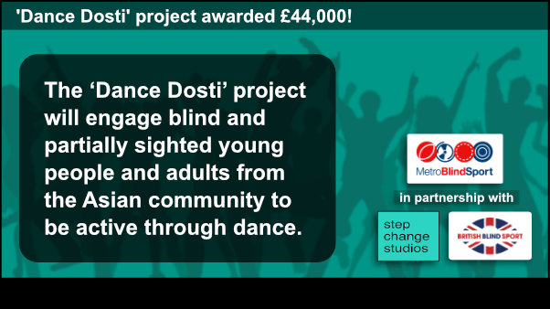 Dance Dosti project awarded £44,000