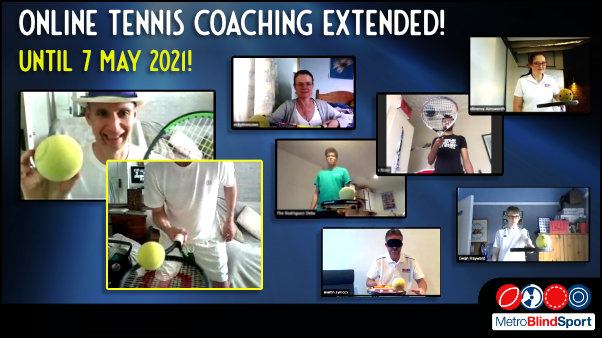 Online Tennis coaching with Mark Bullock EXTENDED until 7 may 2021