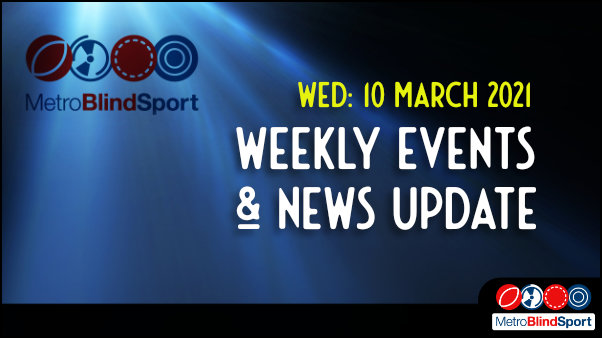 Weekly online event and news Update 10 March 2021