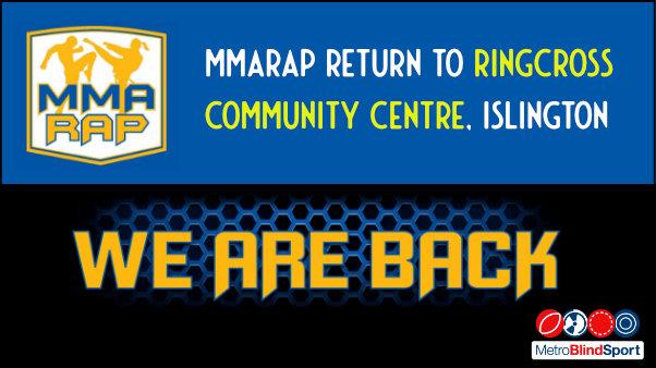 MMARAP return to Ringcross Community Centre, Islington