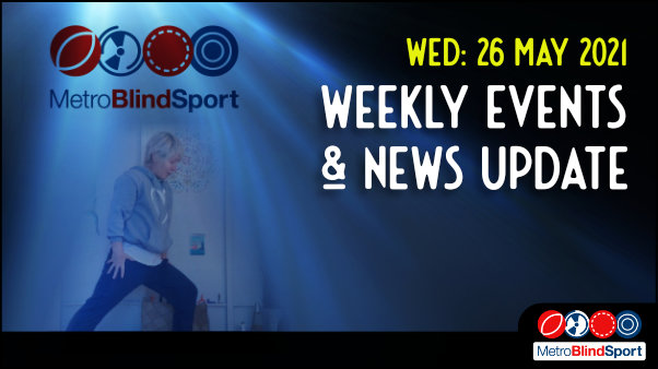 26 May Weekly Events & News Update!