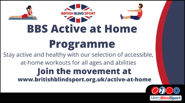 British Blind Sport Active at Home