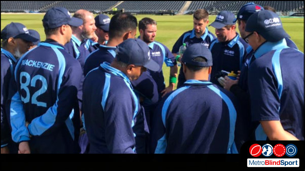 Photo of the Metro cricket team in group chat, Cricket: Match Report