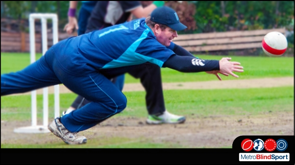 Cricket: Rory dive to catch the ball