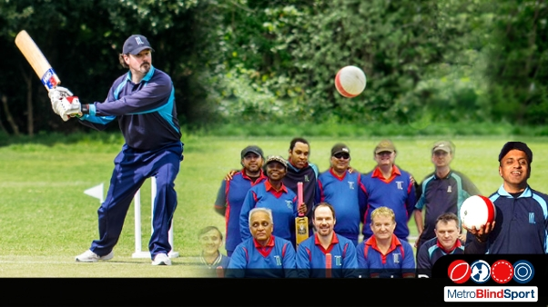 Photo of a batsman about to hit the ball and a team photo of the metro Devils and a photo of current team skipper Hassan Khan