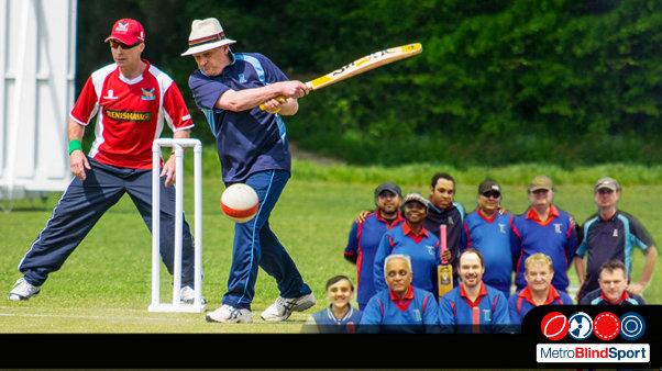 A Photo of a Metro Devils batsman in a Hat hitting the ball and a team photo of the devils back in 2017