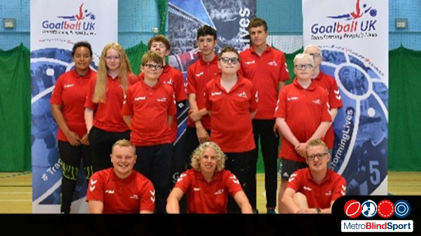 Photo of a Goalball Junior Day with goallball uk coaches and participants