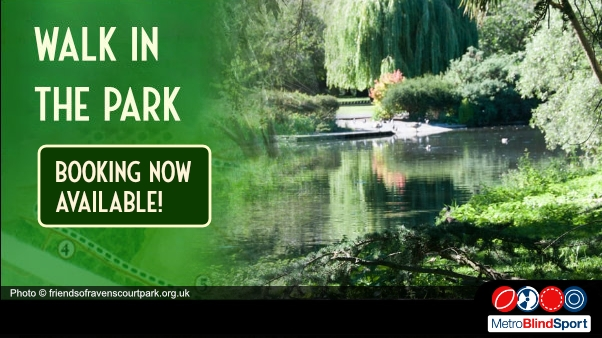 Photo of the lake and willow tree at Ravenscourt park