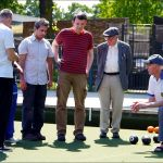 Group coaching by Eric at Walthamstow Borough Bowling Club