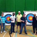 Archery Group Photo with Coach