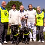 Bowlers with Guide dogs