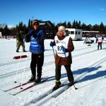 Participant and Guide Starting the Ridderrennet race in Norway 2011