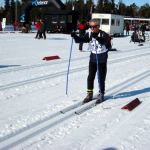 Starting the Ridderrennet race in Norway 2011