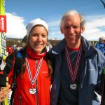 skiers with medals Norway 2011