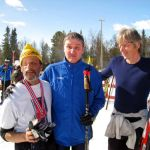 Well deserved Medals and smiles in Norway 2011
