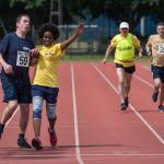 200m Senior Men - Final. Vanja Sudar with guide runner