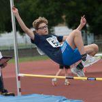 High Jump. Aaron Reynolds
