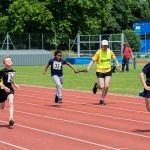 Under 18 Track event with guide