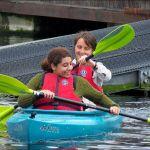 More happy people kayaking!