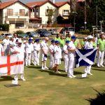VI England Bowls Team in Israel 2016